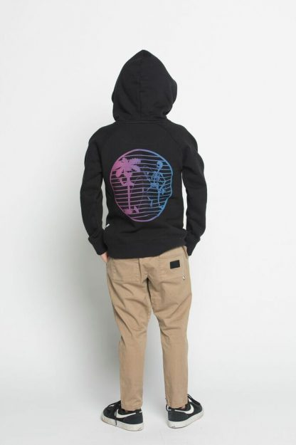 Munster Skeletor Hoodie (soft black)