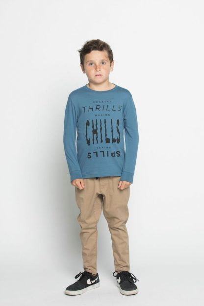 Munster Chills L/S Tee (pigment blue)