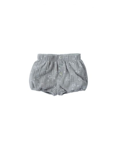 Rylee and Cru  Button Short Twinkle (washed denim)