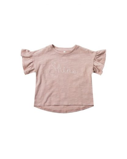Rylee and Cru Flutter Tee Shine (petal)