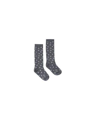r & c AW18 knee high socks stars midnight