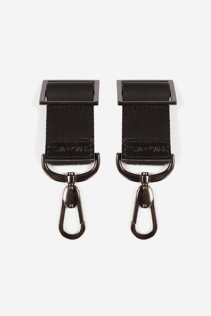 Tiba and Marl Buggy Clips (gunmetal)