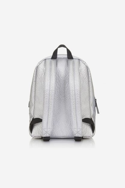 Tiba and Marl Mini Elwood Backpack (silver)