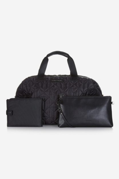 Tiba and Marl Raf Weekender (black quilted)