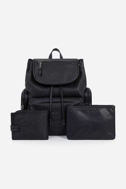 Tiba and Marl Kasper Backpack (faux leather)