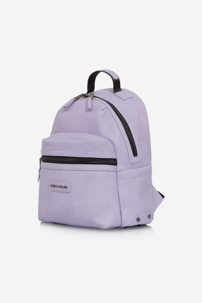 Tiba and Marl Miller Backpack (lilac Faux leather)
