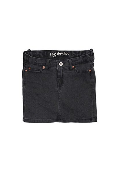 i dig denim Livy Denim Skirt (black)