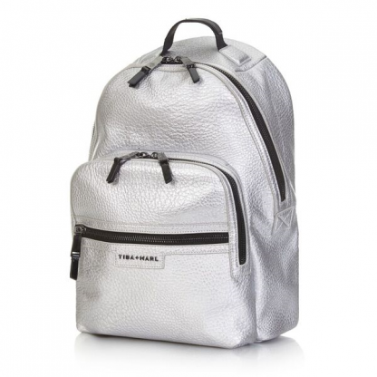 Tiba and Marl Elwood Backpack (silver)