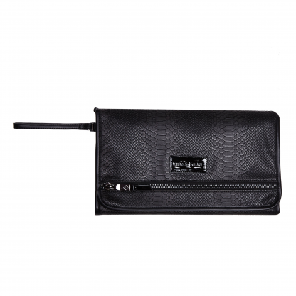 Tiba and Marl Etta Clutch (black snake)