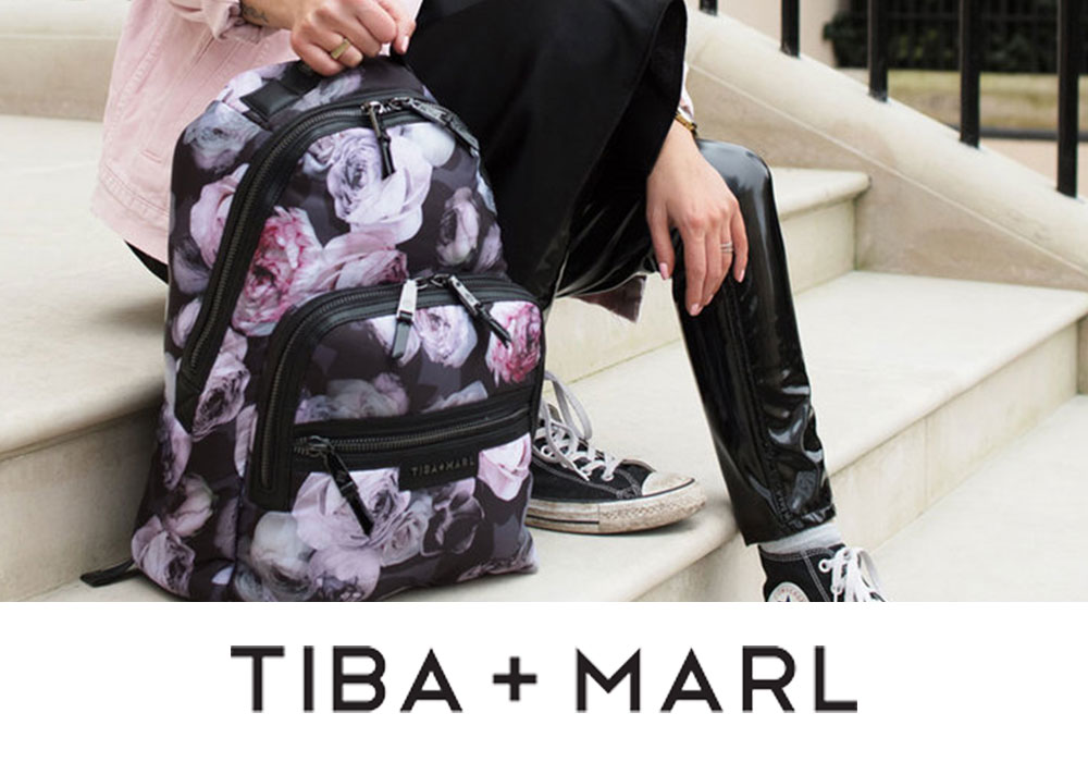 Tiba and Marl Parent and Children's Bags