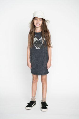palm heart dress