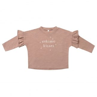 Rylee and Cru Eskimo Kisses L/S Tee (terracotta)