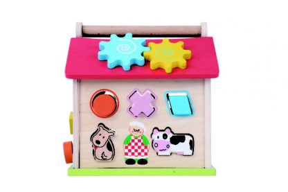 Everearth Farm Shape Sorter