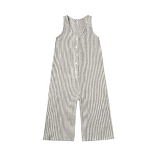 Rylee and Cru Bridgette Jumpsuit Stripe (olive)