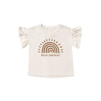 Rylee and Cru Flutter Tee Rainbow Sun (natural)