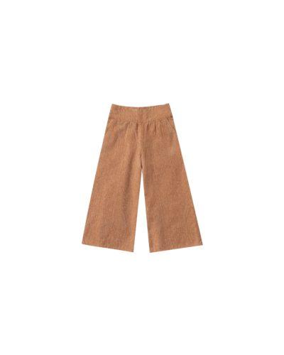wide leg pant bronze