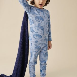 Wilson and Frenchy Organic L/S Pyjama Set (little dragon)