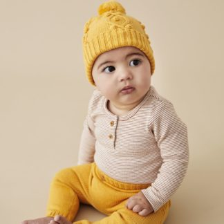 Wilson and Frenchy Knitted Legging (golden apricot)