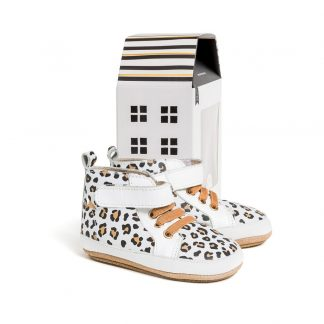 Pretty Brave Hi-Top (white leopard)