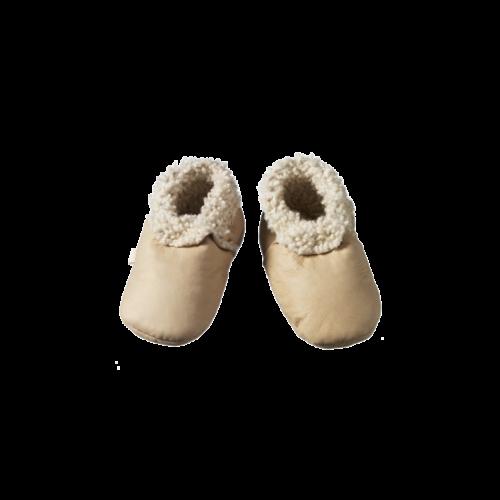 cream booties
