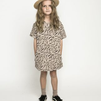 Missie Munster Stevie Dress (mushroom tiger)