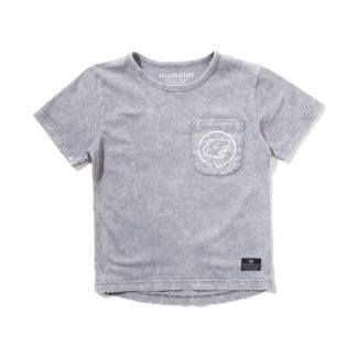 Munster Pak Tee (washed grey)