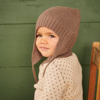 Nature Baby Pieter Hat (truffle marl)