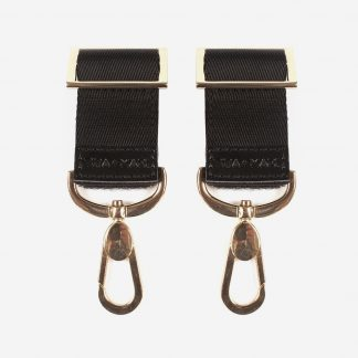 Tiba and Marl Buggy Clips (gold)