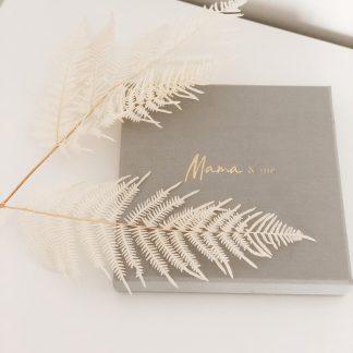 Write To Me Mama and Me (grey)