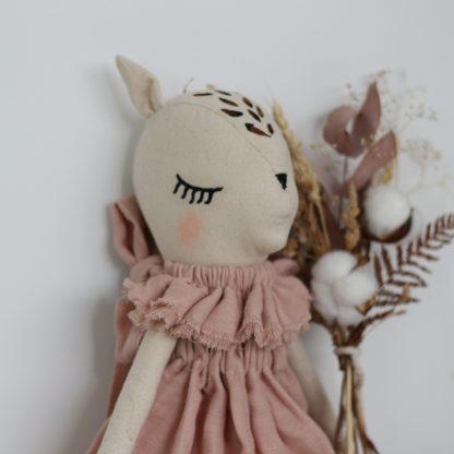 Fleur Le Fawn (dusky rose dress)