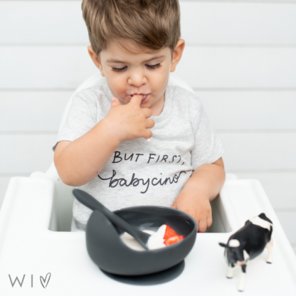 Wild Indiana Silicone Bowl and Spoon Set (jett) 2.0
