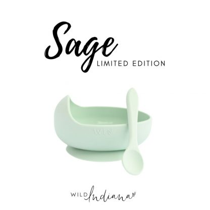 Wild Indiana Silicone Bowl and Spoon Set 2.0 (le sage)