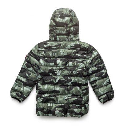Cry Wolf Puffer Jacket (camo)