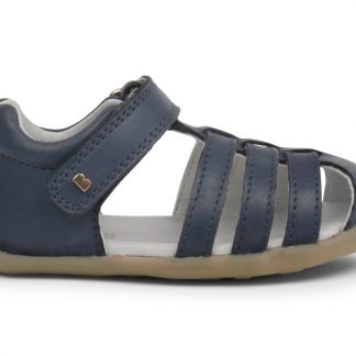 Bobux Step Up Jump closed sandal (navy)