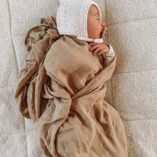 Pop Ya Tot Essential Swaddle (sand dune)