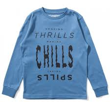 Munster Chills Long Sleeve tee (pigment blue)