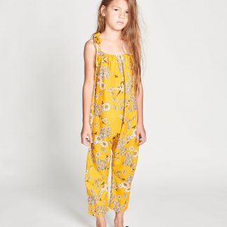 Missie Munster Daisy Island Jumpsuit (retro daisies)
