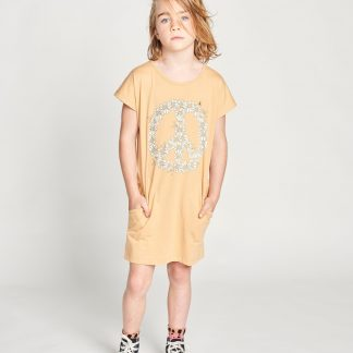Missie Munster  Daisy Peace Dress (porcin)