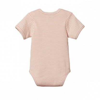 Nature Baby Short Sleeve Bodysuits