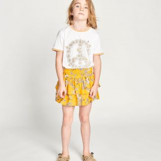 Missie Munster Sunflower Skirt (retro daisies)