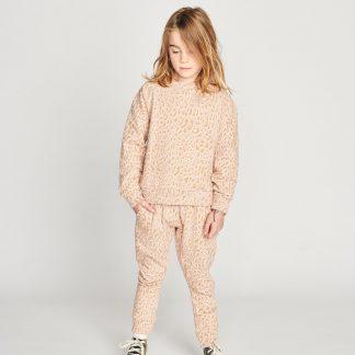 Missie Munster Pip Fleece Pant (dusty leopard print)